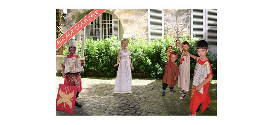 Balade costumée pour les enfants : Le Paris antique