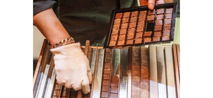 Le quartier du Marais et son chocolatier