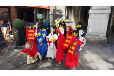 Balade costumée pour les enfants : Le Paris au temps des chevaliers