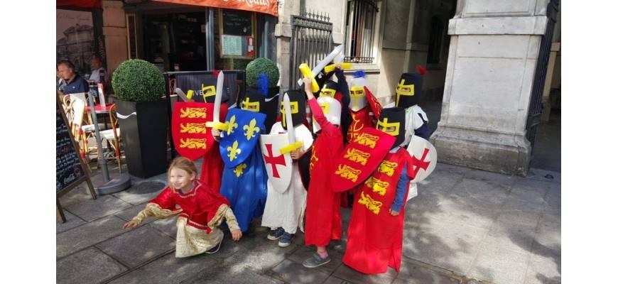 Balade costumée pour les enfants : Une balade au temps des troubadours