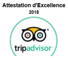 certificat tripadvisor 2018